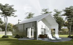 Projekty domów - Domo 01 c - DomoForma