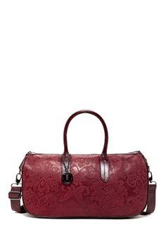 Charles Jourdan Garnet Handbag