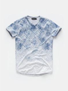 T-shirt Met Verwassen Print Offwhitewit - The Sting