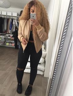 23 Ways To Wear Casual Outfit This Winter, You can collect images you discovered organize them, add your own ideas to your collections and share with other people. Fashion Killa, Look Fashion, Urban Fashion, Autumn Fashion, Dope Outfits, Casual Outfits, Fashion Outfits, Winter Looks, Mode Style