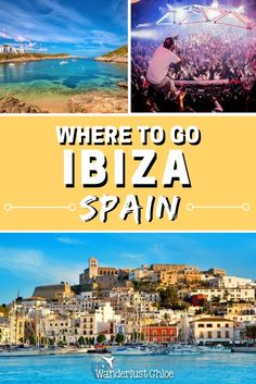 Best places to visit in Ibiza, Spain. My guide to the best places to eat, drink, party and chill out in Ibiza. https://www.wanderlustchloe.com/best-places-visit-ibiza-september/