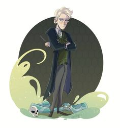 Draco Malfoy by Giully Leão Sketch Blog