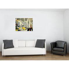 LICHTENSTEIN - Artist's studio the dance 80x60 cm #artprints #interior #design #art #print #iloveart #followart #artist #fineart #artwit  Scopri Descrizione e Prezzo http://www.artopweb.com/autori/roy-lichtenstein/EC21684
