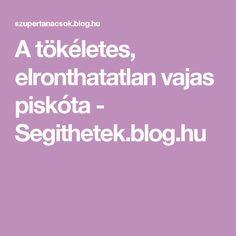A tökéletes, elronthatatlan vajas piskóta - Segithetek.blog.hu