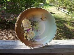 J and C Louise Bavaria Germany Artist Signed, hand-painted bowl by ozarksfinds,  https://www.etsy.com/listing/113671592/j-and-c-louise-bavaria-germany-artist