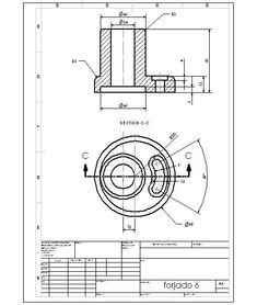 Desenho Final Autocad, Mechanical Engineering Design, Mechanical Design, 3d Drawings, Drawing Sketches, Sketch Design, 3d Design, Isometric Drawing Exercises, Youtube Drawing