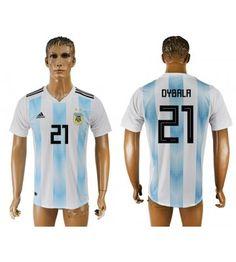 Argentinien Paulo Dybala 21 Heimtrikot WM 2018 Herren Messi 10, Lionel Messi, Sergio Aguero, All Team, Amazing Shopping, Fifa World Cup, Sportswear, Barcelona, Angeles