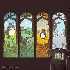 Spirit of the Seasons #MyNeighborTotoro #Totoro