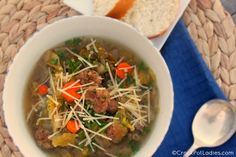 Crock-Pot Italian Wedding Soup | Recipe | Wedding soup, Italian ...