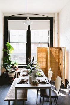 modern tiki tabletop