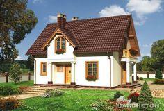Proiecte de case mici cu mansardă. Locuinţa ideală, pe un teren de 300-400 mp