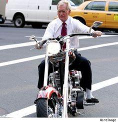 Ride on David Letterman!