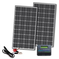 Competition Solar 330-Watt Off-Grid Solar Panel Kit for 12-Volt Charging