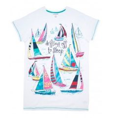 Drifting Off To Sleep Women's Sleepshirt - Justin Porterfield ltd Women's Sleep Shirts, Fashion Accessories