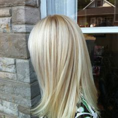 andrewryaninc.com - Cutie Girl wearing Healthy Beautiful Blonde Hair Color with the works!