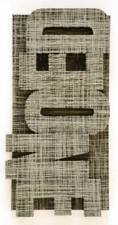 São Mamede - Galeria de Arte  JOH Sem Titulo 164) 7 2015 Técnica mista x Tela e cartão 62 cm x 30 cm