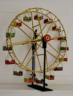 vintage toy ferris wheel. Is it valuable? Find out at BlueVault. Roadshow Appraisal Events. Visit :http://www.bluevaultsecure.com/roadshow-events.php