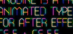 Animated #typography