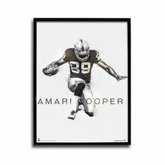 Oakland Raiders Amari Cooper Rising Star 24x18 Football Poster