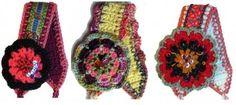 diademas en crochet - Buscar con Google