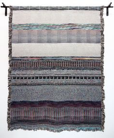 Binary Blankets, Computer Files Turned Into Woven Blankets