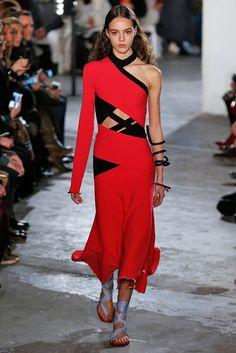 Silver pants, jigsaw dresses, rock-and-roll shoes: Pure joy from Proenza Schouler - The Washington Post