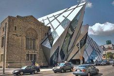 Royal Ontario Museum, Toronto, Daniel Libeskind Museum Architecture, Futuristic Architecture, Beautiful Architecture, Contemporary Architecture, Art And Architecture, Architecture Details, Chinese Architecture, Historical Architecture, Unique Buildings