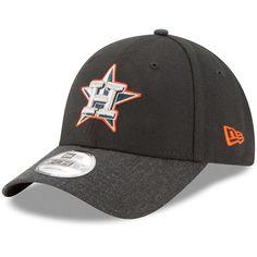 uk availability e67d4 d6de3 Houston Astros New Era The League 2 9FORTY Adjustable Hat - Black Heathered  Black