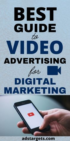 How effective is video advertising? Can work for your business? How to combine social media with video effectively? Here you can find these answers and much more! #videoadvertising #effectiveadvertising #socialmedia #video Display Advertising, Online Advertising, Online Marketing, Digital Marketing, Youtube Advertising, Google Ads, Social Media, Learning, Business