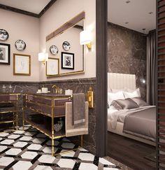 Luxury bathroom by Massimiliano Raggi architetto