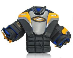 Brown Hockey Elite Chest/Arm Protector