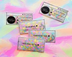 DIY Business Cards That Will Get You Noticed, For Sure - visitenkarten - Fashion Business Cards, Free Business Cards, Unique Business Cards, Craft Business, Business Card Logo, Business Card Design, Diy Confetti, Bussiness Card, Name Cards