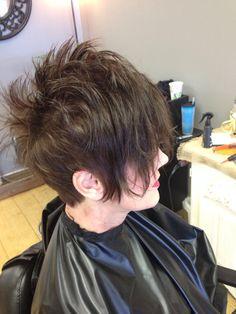 Cute disconnected haircut