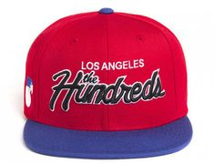 Team Two Strapback Cap by THE HUNDREDS