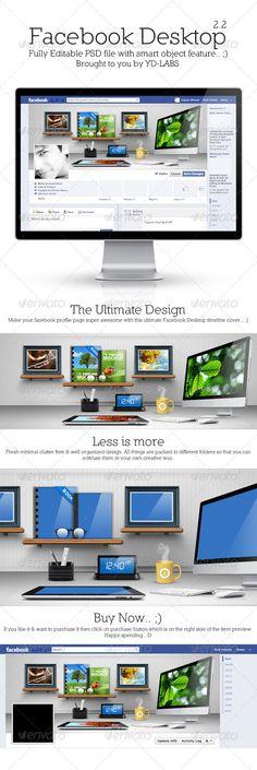 FB Desktop 2.2 - Facebook Timeline Covers Social Media