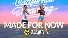 """MADE FOR NOW"" - Janet Jackson, Daddy Yankee / Zumba® choreo by Alix & Jhon Gonzalez - YouTube Zumba Workout Videos, Workout Music, Workout Wear, Exercise Music, Zumba Fitness, Dance Fitness, Zumba Routines, Dance It Out, Daddy Yankee"