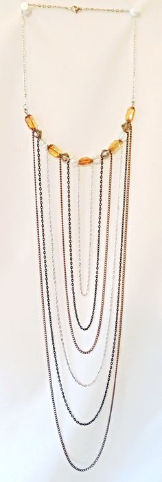 Exclusive Necklace G. Andrea Cousar's 2015 Fall Collection #fashion #designer #jewelry www.gacjewels.com