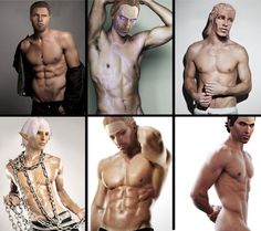 Dragon Age Male Models ~ Extended Version by pudgethefish