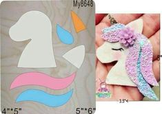 Best 12 Unicorn crafts – fun and easy DIY unicorn craft projects for kids and for unicorn birthday parties – felt crafts for kids – SkillOfKing. Felt Crafts, Diy And Crafts, Crafts For Kids, Paper Crafts, Bow Template, Unicorn Crafts, Unicorn Decor, Bow Pattern, Unicorn Hair