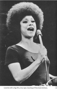 Luz Esther Benítez (born July 22, 1942), better known to the music world as Lucecita, is a Puerto Rican singer.