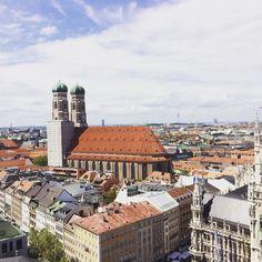 Tagsüber ist der Blick vom Alten Peter einfach fantastisch. Du musst nicht stundenlang anstehen und hast den perfekten Blick auf die Frauenkirche.