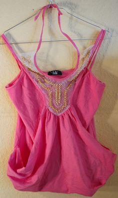 Damen Süßes Sommer  top damen bluse Pink