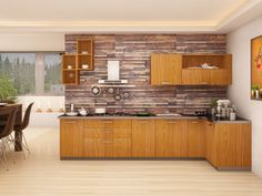 Your kitchen has all the good reasons to be rewarded with a grand makeover. Embrace these contemporary modular kitchen design ideas, for your beloved space in the house. Interior Design Website, Living Room Interior, Kitchen Interior, Interior Design Living Room, Kitchen Decor, Kitchen Storage, L Shaped Modular Kitchen, Luxury Kitchen Design, Kitchen Designs