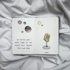 ✔ Cute Quotes From Songs Thoughts Bullet Journal Art, My Journal, Bullet Journal Inspiration, Journal Pages, Journals, Journal Quotes, Book Quotes, Citation Photo Insta, Kunstjournal Inspiration