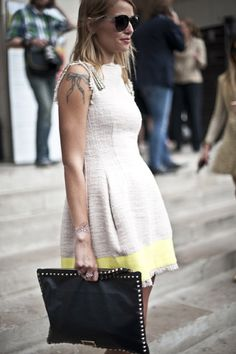 Street style: Paris A/W 12-13 haute couture | Harper's BAZAAR