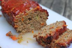 Low Sodium Meatloaf   I didnt do the celery or carrot, I added more garlic and a whole white onion, 2 eggs 1.50 lb hamburger, Panko bread crumbs instead of oats, no milk. Also added a pinch of cayenne and turmeric for health!