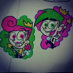 Wanda and Cosmo