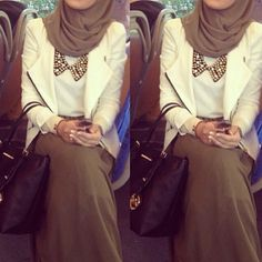 Cute hijab outfit