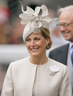 Sophie, Countess of Wessex attends Ladies Day during Royal Ascot at Ascot Racecourse