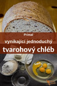 Low Carb Bread, Keto Bread, Low Carb Keto, Czech Recipes, No Salt Recipes, Easy Cooking, Food Inspiration, A Table, Food To Make